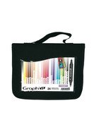 GRAPH-It Marker 24er Set im WALLET - Scrap &