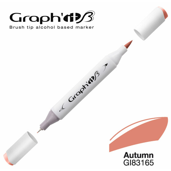 GRAPHIT Marker BRUSH & EXTRA FINE  Farbe: Autumn (3165)