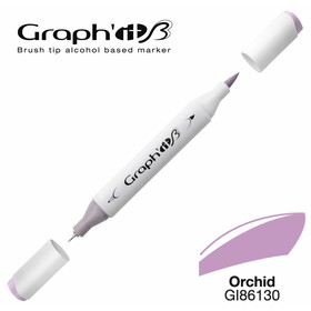 GRAPH'IT Marker BRUSH & EXTRA FINE  Farbe: Orchid (6130)
