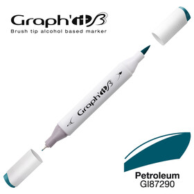 GRAPH'IT Marker BRUSH & EXTRA FINE  Farbe: Petroleum (7290)