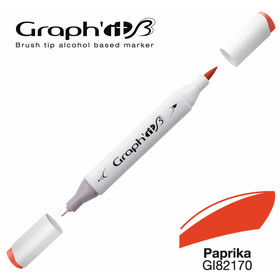 GRAPH'IT Marker BRUSH & EXTRA FINE  Farbe: Paprika (2170)