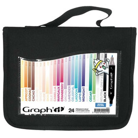 GRAPH-It Marker 24er Set im WALLET - Manga