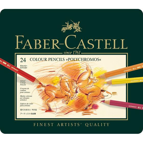 Farbstift Polychromos 24er Metalletui