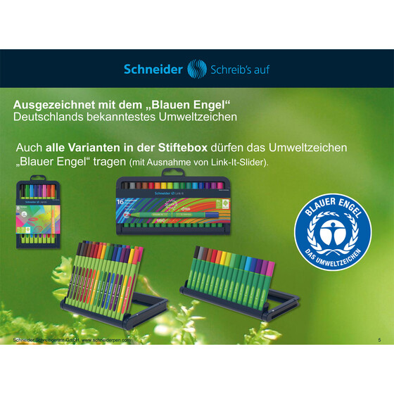 SCHNEIDER Fineliner Link-It apple-green